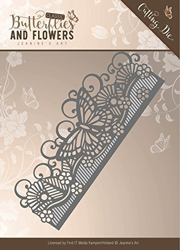 Finden ES Trading Jeanine 's Art Classic Schmetterlinge und Blumen sterben