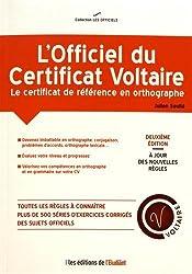 L'Officiel du certificat Voltaire