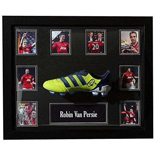 Manchester United Robin van Persie Signed Football Boot Display Decoration