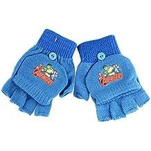 Guantes–guantes mitones, 2en 1niño Avengers azul talla única 3/6ans