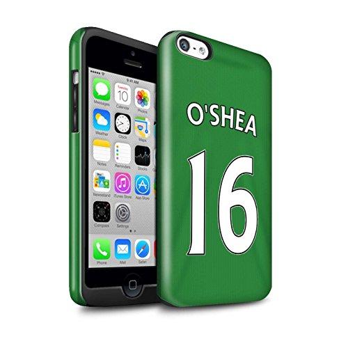 Officiel Sunderland AFC Coque / Brillant Robuste Antichoc Etui pour Apple iPhone 5C / Pack 24pcs Design / SAFC Maillot Extérieur 15/16 Collection O'Shea