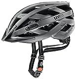 Uvex Fahrradhelm mit LED Licht city i-vo