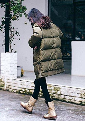 stivali da neve inverno delle donne , gold , 37 34