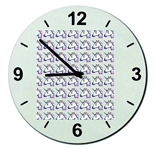 Verre-Montre-Pinkes-Unicorn-en-ranges-tte-de-licorne-Regarder-18-20-30-Smiley-Emoji-Astuces-de-Nol