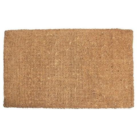 J & M Home Fashions Plain Imperial Coco Doormat, 24-Inch by 39-Inch by J & M Home Fashions