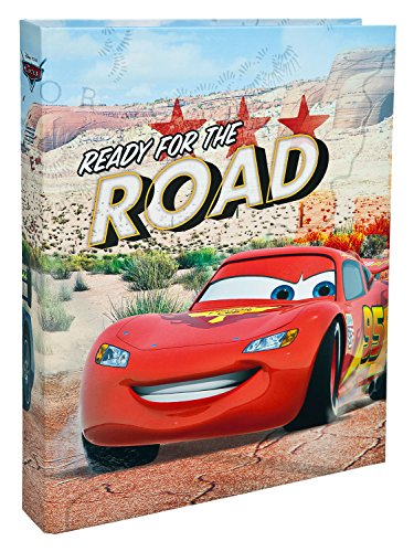 Ordner-fan (Undercover CAGR0310 - Ringbuch A4, Disney Pixar Cars)
