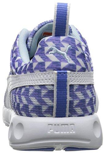 Puma Carson Runner Glitch Sneaker White/Ultramarine/Riviera