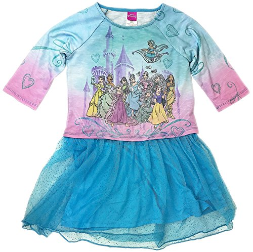 Disney Princess Girls Fantasy Nightgown Dress Tutu (XL (14/16)) (Disney Princess Tutu Kleid)