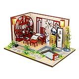 Dapei DIY Holzhaus Möbel Handwerk Miniatur Box DIY Kits Innovative Romantische Puppenhaus Bausatz Kreative Geschenk Spielzeug 6D Puzzle Geschenke