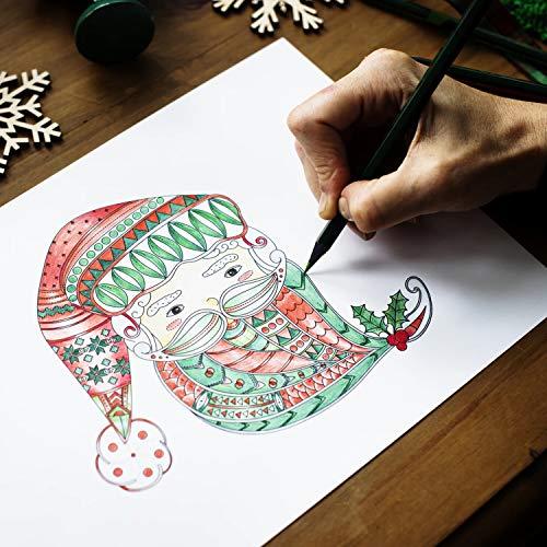 colorare con 24/brillanti Arte Matite con diversi colori per dipingere Un regalo perfetto per bambini arvidsson NERO Pastelli e matite colorate Set disegnare o kolorieren
