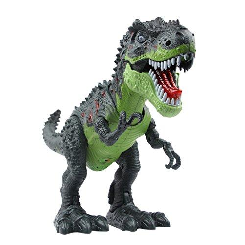 Kostüm Roboter Herz - YIER Elektronisches Spielzeug Grün Gehen Tyrannosaurus Rex Dinosaurier