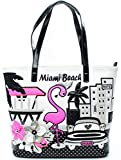 Borsa Shopping Braccialini | Tua | Cartoline Miami Beach | P/E-2016 | B10213CA-Variante Unica