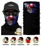 ECOMBOS Multifunktionstuch - Bedrucktes Schlauchtuch Bandana Face Shield Gesichtsmaske Halstuch Qualitäts Bandana