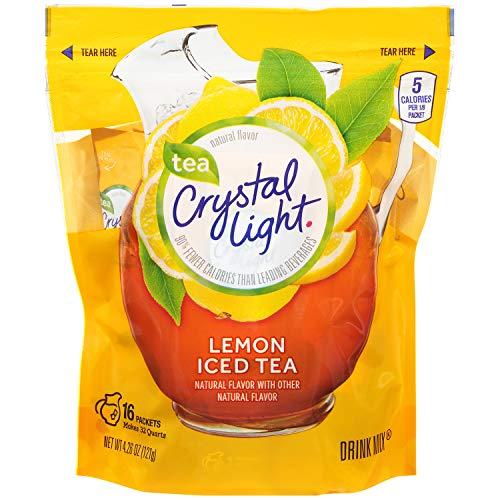 Crystal Light Ice Tea, Natural Lemon, 16 Count by Crystal Light