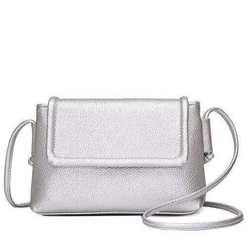 Syknb Der Retro - Freizeit - Xiekua Paket Tasche silvery