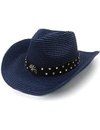 Amazon.es  Azul - Sombreros de cowboy   Sombreros y gorras  Ropa eaed7dc0463