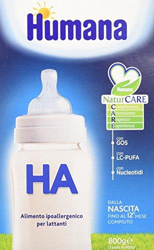 Humana ha latte ipoallergenico, in polvere - 800 gr