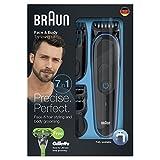 Braun Tondeuse tout-en-un 7-en-1 MGK3042, Tondeuse Barbe et Cheveux, Tondeuse de...