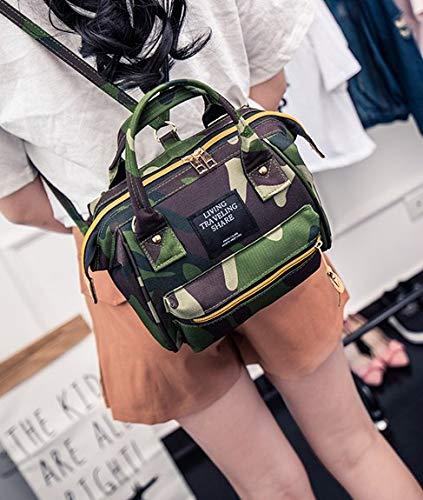Hffan Damen Canvas Handtasche Schultertasche Casual Multifunktionale Umhängetaschen Groß für Arbeit Schule Shopper Lässige Frauen Casual Umhängetaschen Tote Bag Groß für Arbeit Schule Shopper