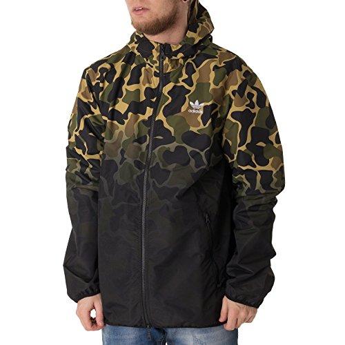 adidas Camouflage Windbreaker Herren Jacke, Multco, L