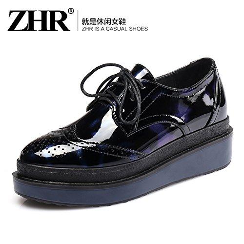 Printemps Vent Chaussures Plate-forme D'angleterre/Épaissir Chaussures Plate-forme/Chaussures Plates/Casual Shoes/Chaussures De Joker B