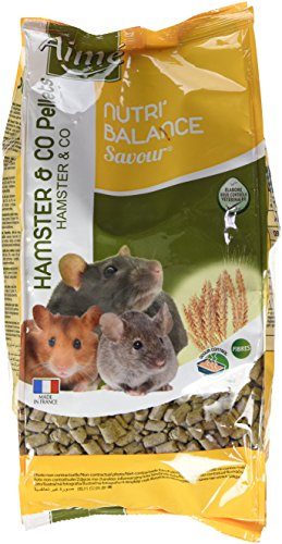 Aime Nourriture Nutri'Balance Savour Pellets Hamster et...