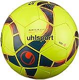 uhlsport Ball MEDUSA ANTEO 290 ULTRA LITE, fluo gelb/petrol/schwarz, 3, 100161801