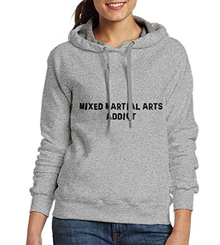 HHHcustom Sweatshirts for Women Mixed Martial Arts Addict Womens Hoodies