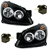 AD Tuning GmbH & Co. KG DEPO Halogen Scheinwerfer Set Schwarz inkl Stellmotoren für Leuchtweitenregulier
