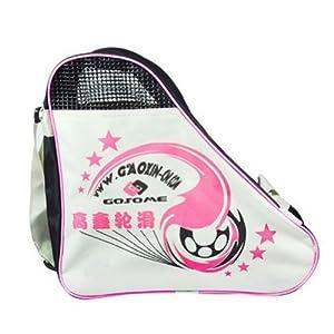 Skate Roller & Carry Bag Roller Derdy Tote Schlittschuh Sack Rosa, L