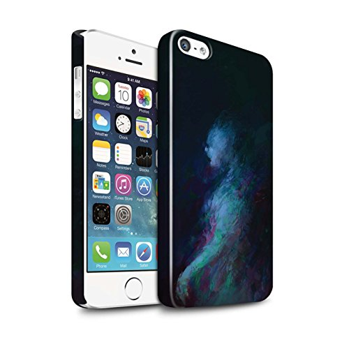 Offiziell Chris Cold Hülle / Glanz Snap-On Case für Apple iPhone 5/5S / Pack 10pcs Muster / Dunkle Kunst Dämon Kollektion Geist/Ghul