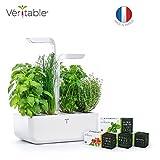 Potager Véritable® CLASSIC - Jardin autonome d'intérieur Made in France (Blanc)