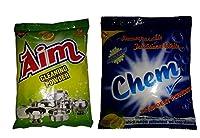 Ultra Chem Detergent Powder 100g & Aim Cleaning Powder 450g