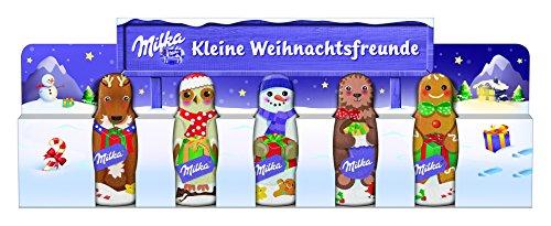 Milka Snowman Friends – Einzeln verpackte Schokoladen Schneemänner – 5 x 75g