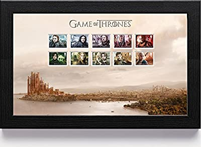 Game of Thrones N3115 1St Class Framed Stamp