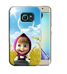 PrintFunny Designer Printed Case For Samsung Galaxy S6 Edge