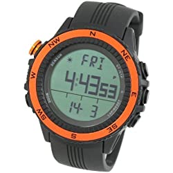 [LAD WEATHER] German Sensor Prime Day Digital Compass Altimeter Barometer Chronograph Alarm Weather Forecast Outdoor Wrist Sports Watches (Climbing/ Hiking/ Running/ Walking/ Camping) Men's