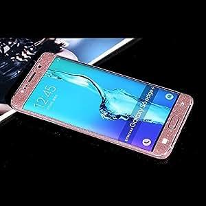 Samsung Galaxy S6 Edge Plus Sticker, Brillant Glitter complet du corps peau Protector Sparkling Film Stickers Pour Samsung Galaxy S6 Edge Plus (rose)
