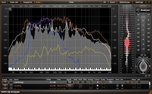 HOFA IQ-Series Analyser (Plugin) | unverzichtbares Tool zur Frequenz- und Soundanalyse
