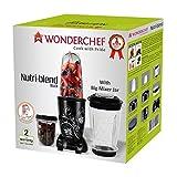 Wonderchef Nutri-Blend 400-Watt 3 Jars (Black) with Free Smart Peeler From home bazaar