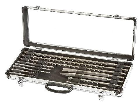 Foret Perforateur - Einhell Accessoire Coffret aluminium de 12 forêts