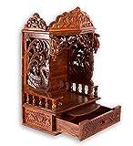 Aarsun Sheesham Handcarved Wooden Temple...
