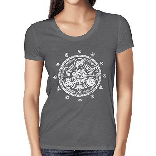 TEXLAB - Gate of Time - Damen T-Shirt Grau