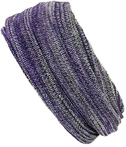 Guru-Shop Magic Hairband, Dread Wrap, Schlauchschal, Stirnband, Mütze - Lila, Herren/Damen, Violett, Baumwolle, Size:One Size, Stirnbänder Alternative Bekleidung