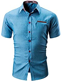 e4afdbb6885aa Camisas hombre Camisa de Color de los hombres t-shirt
