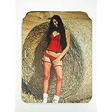 Sexy porno de Star Sweet Sophie neopreno Funda para iPad 2y 3, estampado por una cara diseño # 36