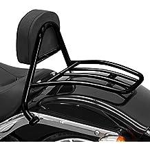FXSB 13-18 silber Gep/äcktr/äger Beifahrer-Rack Fehling f/ür Harley Davidson Softail Breakout