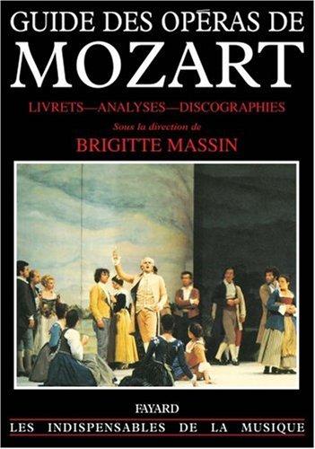 Guide des opéras de Mozart