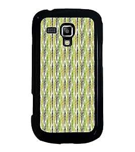 Fuson Designer Back Case Cover for Samsung Galaxy S Duos S7562 (lines square box art artistic)