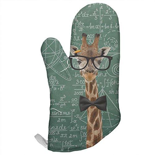 Giraffe Mathematische Geek Formeln alle über Ofen Mitt, Baumwolle / Polyester, mehrfarbig, Einheitsgröße